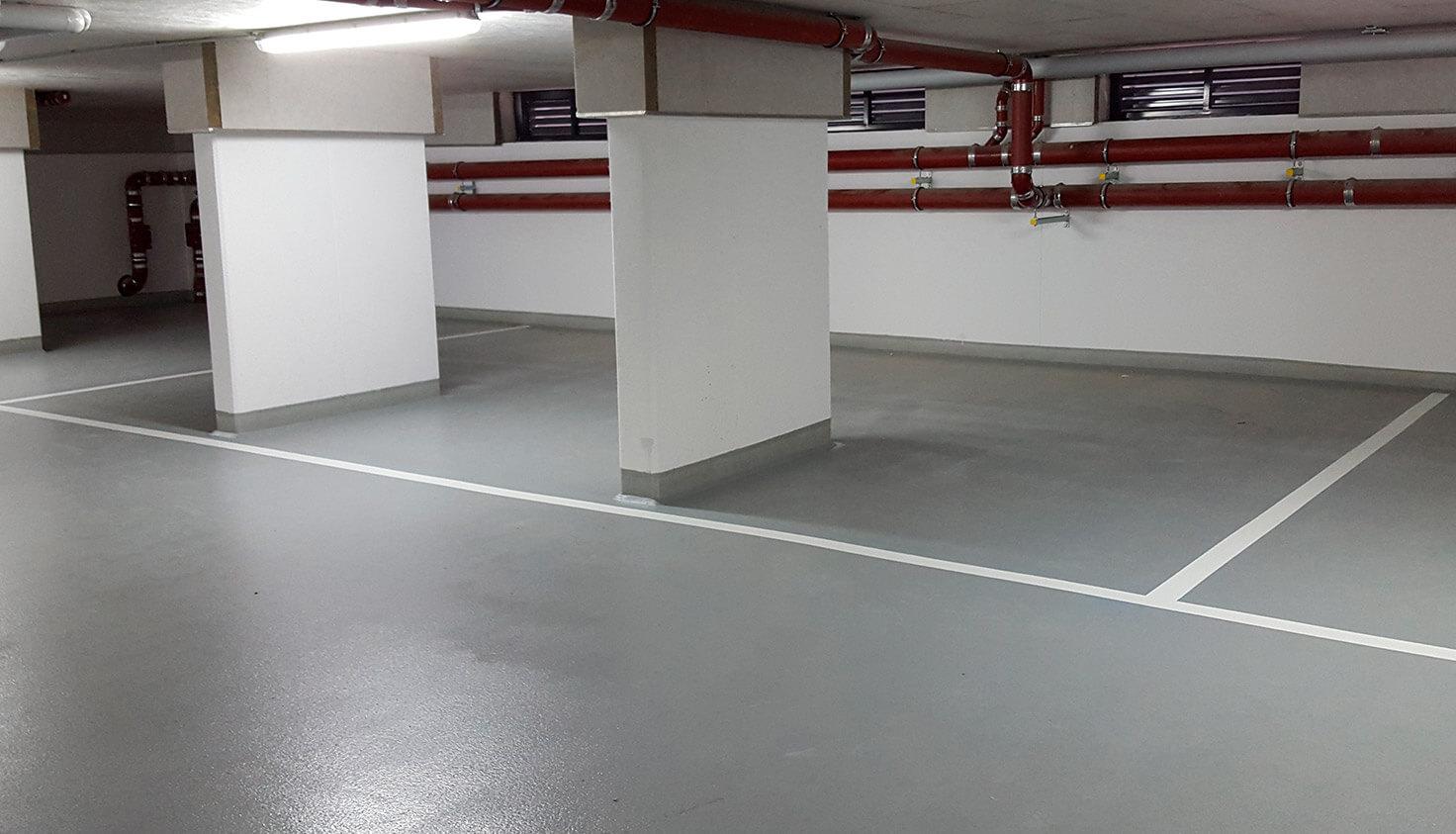 Bodenbeschichtung - Referenz Malerbetrieb Kluge Berlin