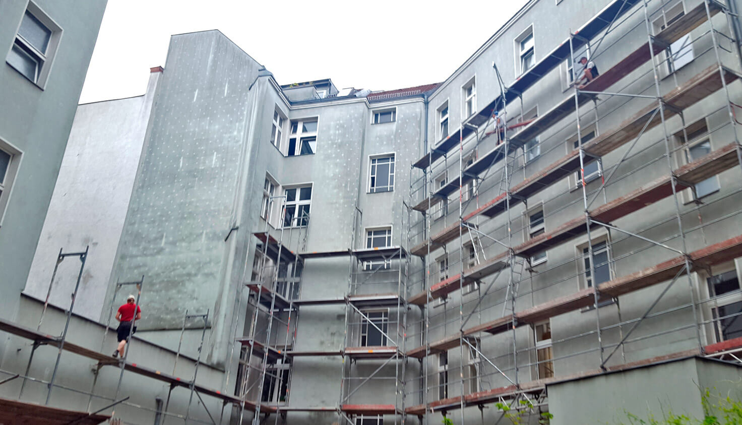 Malplaquetstraße Fassade - Referenz Malerbetrieb Kluge Berlin