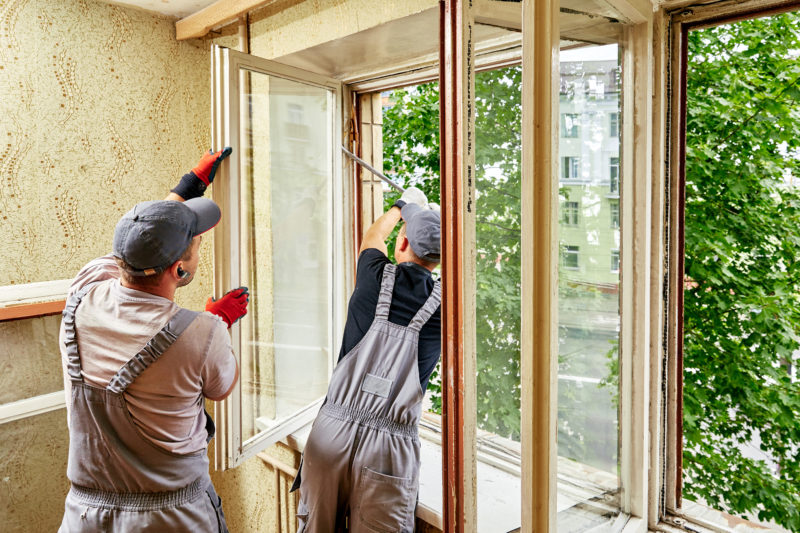 Aus alt mach neu – Fenster- und Türsanierung